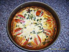 Tomaten-Mozzarella-Quiche